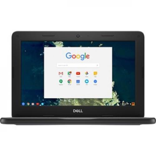 "Dell Chromebook 11 3000 3100 11.6"" Chromebook   HD   1366 X 768   Intel Celeron N4020 Dual Core (2 Core)   4 GB RAM   16 GB Flash Memory Front/500"