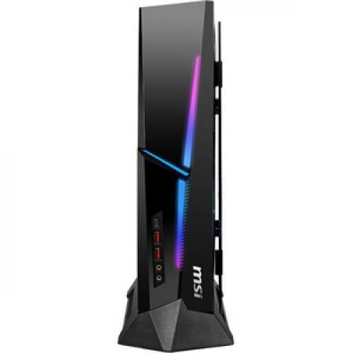 MSI MEG Trident X 10th 10SD 864US Gaming Desktop Computer   Intel Core I7 10th Gen I7 10700K(F)   32 GB RAM DDR4 SDRAM   1 TB SSD Front/500