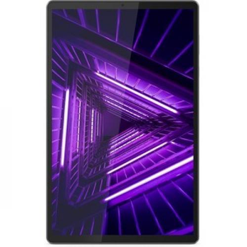"Lenovo Smart Tab M10 TB X606FA ZA6M0007US Tablet   10.3"" WUXGA   4 GB RAM   128 GB Storage   Android 9.0 Pie   Platinum Gray Front/500"