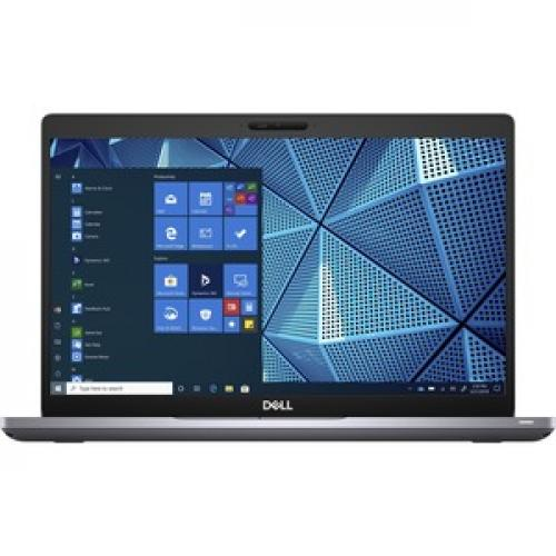 """Dell Latitude 5000 5410 14"""" Touchscreen Notebook   Full HD   1920 X 1080   Intel Core I5 10th Gen I5 10310U Quad Core (4 Core) 1.70 GHz   8 GB RAM   256 GB SSD   Gray Front/500"""