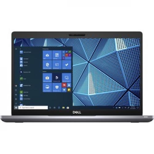 """Dell Latitude 5000 5410 14"""" Touchscreen Notebook   Full HD   1920 X 1080   Intel Core I7 (10th Gen) I7 10610U Quad Core (4 Core) 1.80 GHz   16 GB RAM   512 GB SSD   Gray Front/500"""
