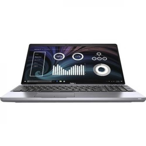 """Dell Latitude 5000 5511 15.6"""" Notebook   Full HD   1920 X 1080   Intel Core I5 (10th Gen) I5 10400H Quad Core (4 Core) 2.60 GHz   16 GB RAM   256 GB SSD Front/500"""
