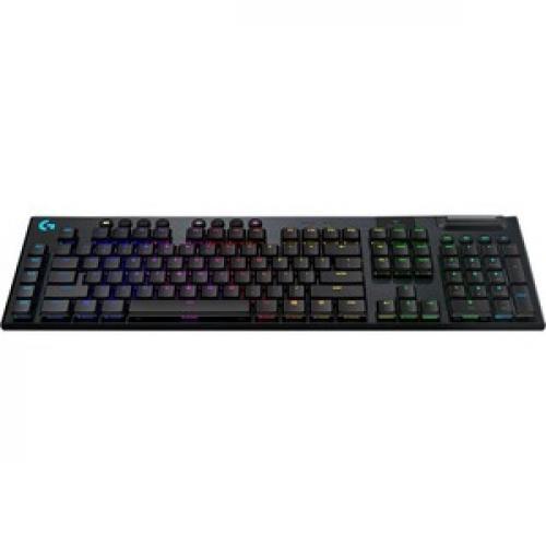 Logitech G915 TKL Tenkeyless Lightspeed Wireless RGB Mechanical Gaming Keyboard Front/500