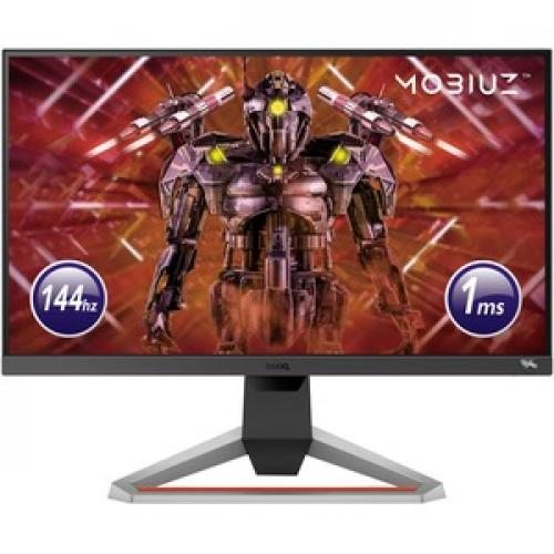 "BenQ MOBIUZ EX2510 24.5"" Full HD LED Gaming LCD Monitor   16:9   Dark Gray, Black Front/500"