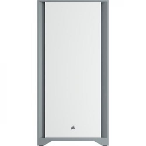 Corsair 4000D Tempered Glass Mid Tower ATX Case   White Front/500