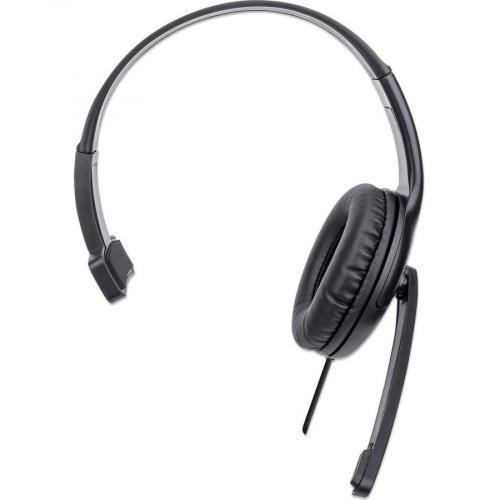 Manhattan Mono USB Headset Front/500