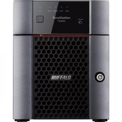 Buffalo TeraStation 3420DN Desktop 8 TB NAS Hard Drives Included Front/500