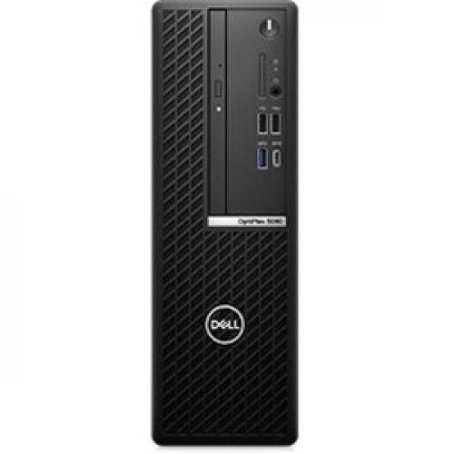 Dell OptiPlex 5000 5080 Desktop Computer   Intel Core I7 10th Gen I7 10700 Octa Core (8 Core) 2.90 GHz   8 GB RAM DDR4 SDRAM   1 TB HDD   Small Form Factor Front/500