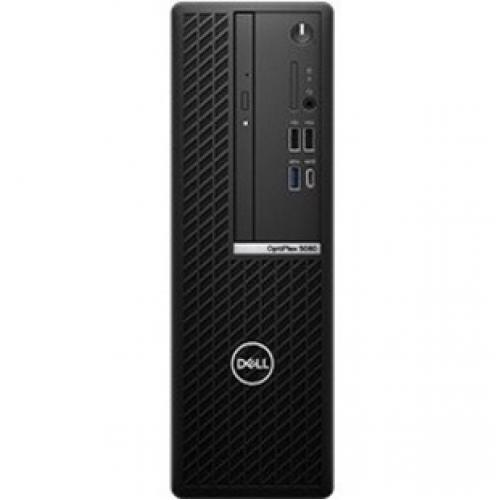 Dell OptiPlex 7000 7080 Desktop Computer   Intel Core I5 10th Gen I5 10500 Hexa Core (6 Core) 3.10 GHz   8 GB RAM DDR4 SDRAM   256 GB SSD   Small Form Factor Front/500