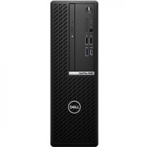 Dell OptiPlex 7000 7080 Desktop Computer   Intel Core I5 10th Gen I5 10500 Hexa Core (6 Core) 3.10 GHz   16 GB RAM DDR4 SDRAM   256 GB SSD   Small Form Factor   Black Front/500