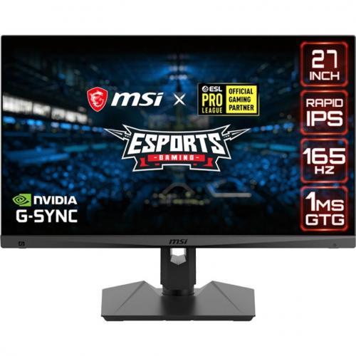 "MSI Optix MAG274QRF QD 27"" WQHD Gaming LCD Monitor   16:9 Front/500"