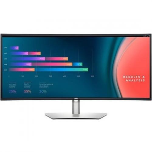 """Dell UltraSharp U3421WE 34.1"""" Curved Screen LCD Monitor Front/500"""