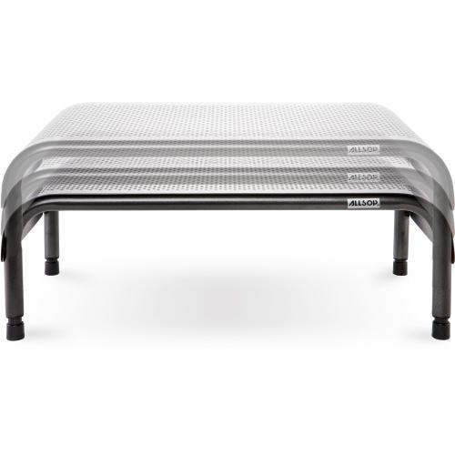 Allsop Metal Art Ergo 3 Adjustable Height Monitor Stand 15 Inch Wide Platform   (31630) Hero-Shot/500