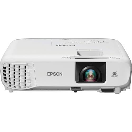 Epson PowerLite 107 LCD Projector   White, Gray Hero-Shot/500