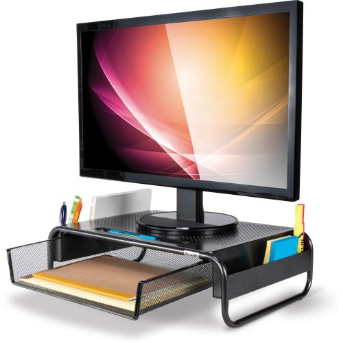 Allsop 32166 Metal Art Organizer 5 Monitor Stand Hero-Shot/500