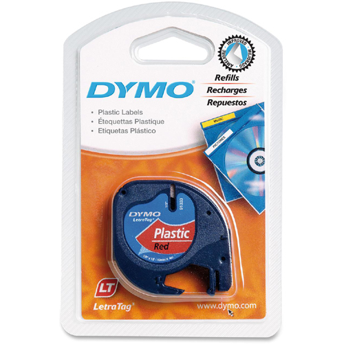Dymo LetraTag 91333 Polyester Tape In-Package/500