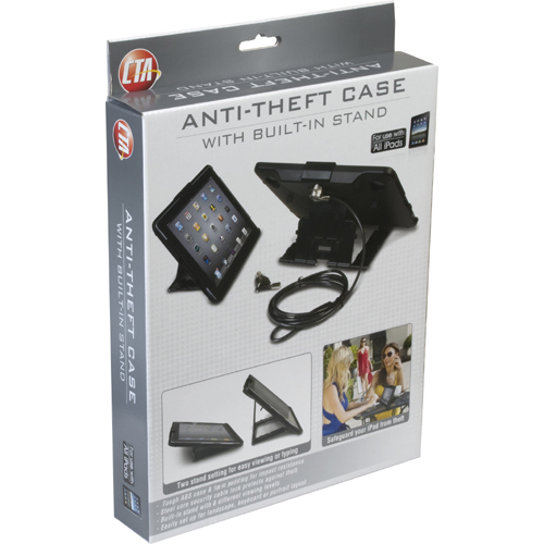 CTA Digital Anti Theft Case With Built In Stand In-Package/500