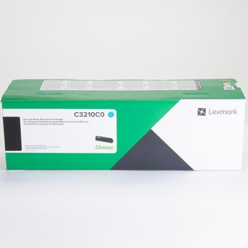 Lexmark Unison Original Toner Cartridge   Cyan In-Package/500