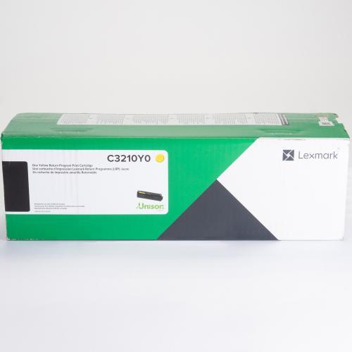 Lexmark Original Toner Cartridge   Yellow In-Package/500