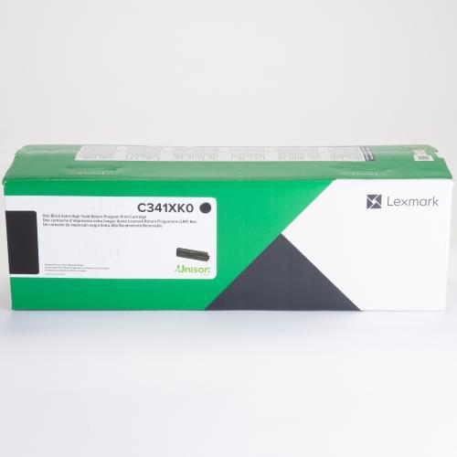Lexmark Original Toner Cartridge   Black In-Package/500