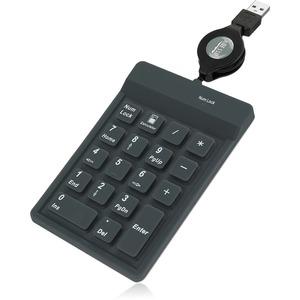 Adesso AKP 218 18 Key Waterproof Key Pad Left