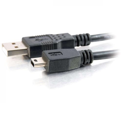 C2G 1m USB 2.0 A To Mini B Cable Left/500