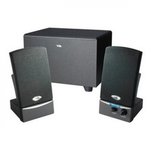 Cyber Acoustics CA 3001 2.1 Speaker System   8 W RMS   Black Left/500