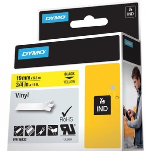 Dymo Colored Industrial Rhino Vinyl Labels Left/500