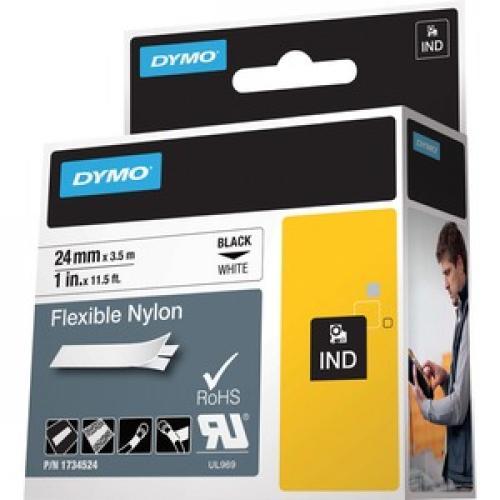 "Dymo 1"" Flexible Nylon Rhino Label Tape Left/500"