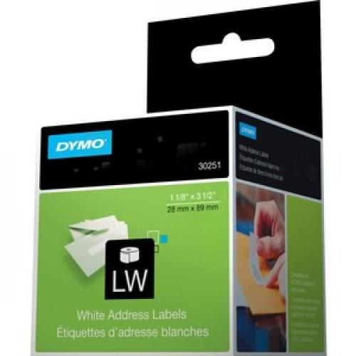 Dymo White Address Labels Left/500