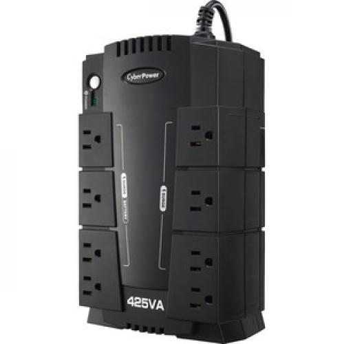 CyberPower Standby CP425SLG 425 VA Desktop UPS Left/500