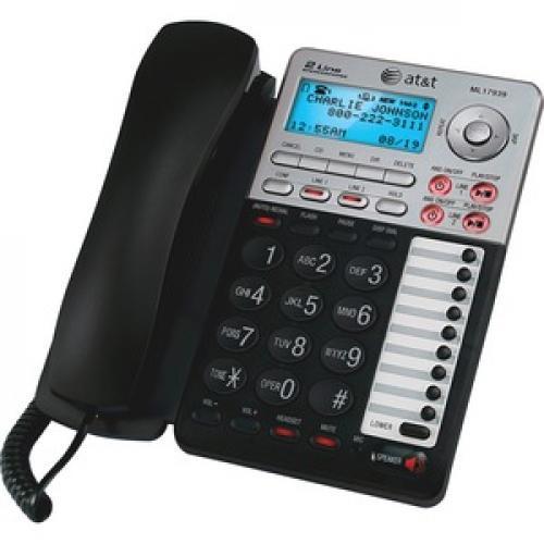 VTech ML17939 Standard Phone   Black Left/500