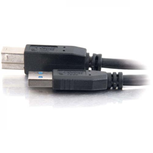 C2G 3m USB 3.0 A Male To B Male Cable (9.8ft) Left/500
