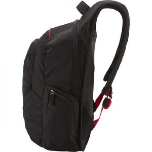 """Case Logic DLBP 116BLACK Carrying Case (Backpack) For 16"""" Notebook   Black Left/500"""