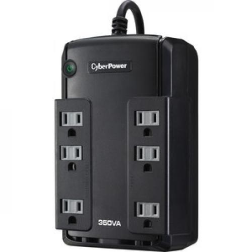CyberPower Standby CP350SLG 350VA Desktop UPS Left/500