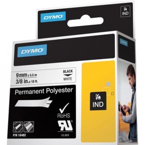Dymo Rhino Permanent Poly Labels Left/500