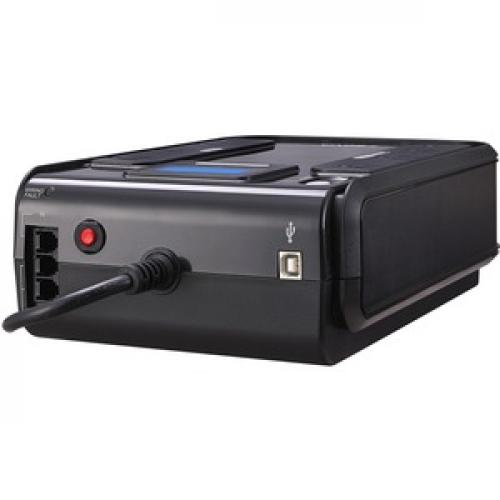 CyberPower CP750LCD Intelligent LCD 750VA/420W Desktop UPS Left/500