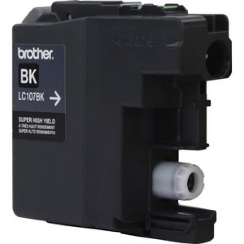 Brother Genuine Innobella LC107BK Super High Yield Black Ink Cartridge Left/500