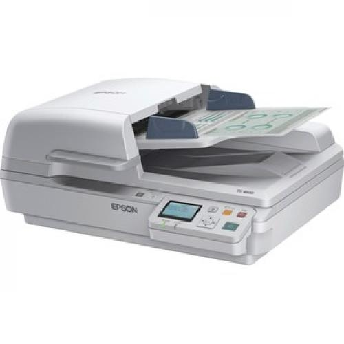Epson WorkForce DS 6500 Flatbed Scanner   1200 Dpi Optical Left/500