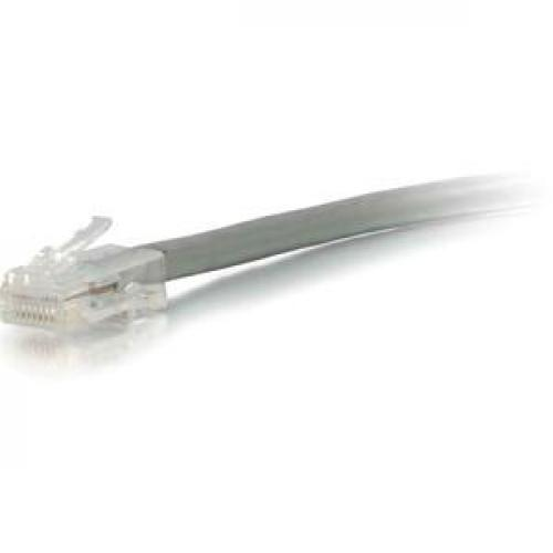 C2G 7ft Cat6 Non Booted Unshielded (UTP) Network Patch Cable   Gray Left/500
