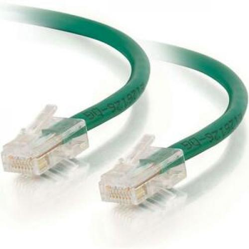 C2G 1ft Cat6 Non Booted Unshielded (UTP) Network Patch Cable   Green Left/500