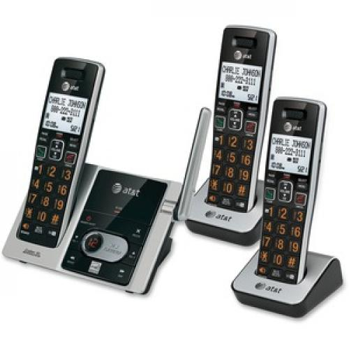 AT&T CL82313 DECT 6.0 Cordless Phone Left/500