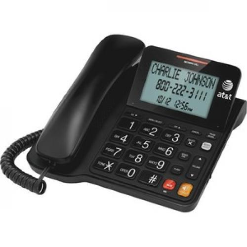 AT&T CL2940 Standard Phone   Black Left/500