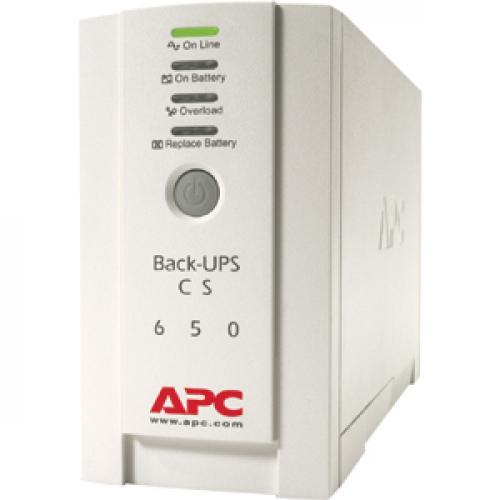APC Back UPS CS 650VA 230V For International Use Left/500
