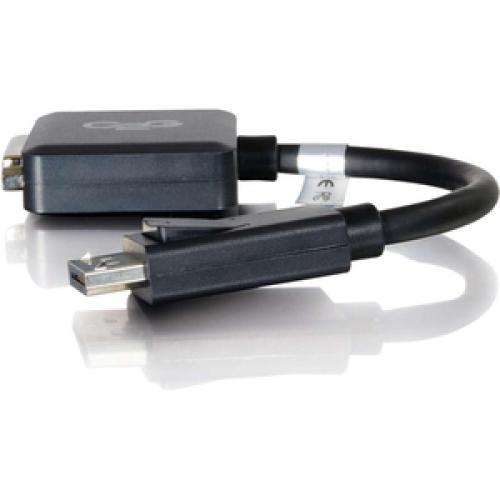 C2G DisplayPort To DVI D Adapter   Adapter Converter   M/F Left/500