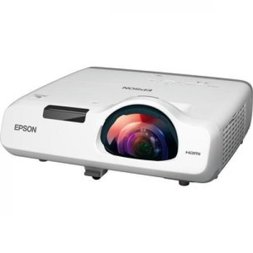 Epson PowerLite 520 Short Throw LCD Projector   4:3   White Left/500