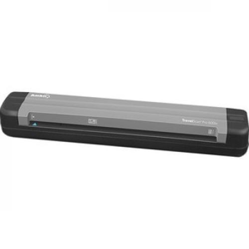 Ambir TravelScan Pro 600ix Sheetfed Scanner   600 Dpi Optical Left/500