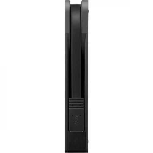 BUFFALO MiniStation Extreme NFC USB 3.0 2 TB Rugged Portable Hard Drive (HD PZN2.0U3B) Left/500