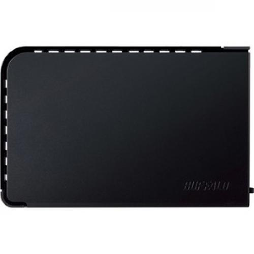BUFFALO DriveStation Axis Velocity USB 3.0 4 TB High Speed 7200 RPM External Hard Drive (HD LX4.0TU3) Left/500