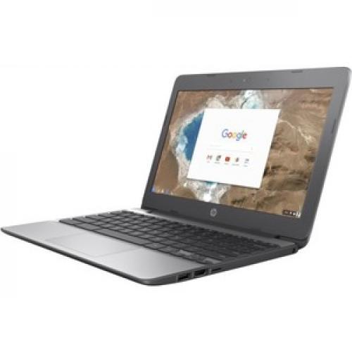 "HP 11 11.6"" Touchscreen Chromebook Intel Celeron N3060 4GB RAM 16GB EMMC   Intel Celeron N3060 Dual Core   Intel HD Graphics 400   In Plane Switching (IPS) Technology   UWVA Corning Gorilla Glass Display   11 Hr 30 Min Battery Life Left/500"